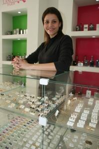 Ana Karina Terron buscou empréstimo para adquirir produtos para sua loja